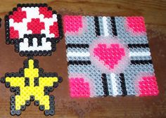 A cold and a bucket of Perler Beads equals FUN! - MISCELLANEOUS TOPICS