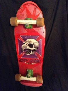 Vintage Powell Peralta Tony Hawk 80's Complete Skateboard