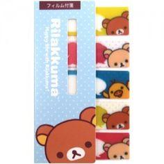 San-X Sticky Bookmark Set: Friends RK