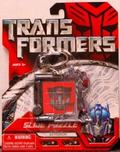 Amazon.com: Transformers Slide Puzzle Keychain: Toys & Games