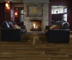 Snuggle up to this cozy fire - Lofty Expectations collection, Design: Liberty; from American Heritage category. #IVC www.ivcfloors.com