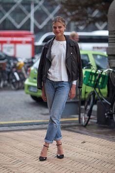 Street Style Copenhagen Fashion Week Spring 2014 - Copenhagen Street Style - Harper's BAZAAR