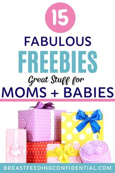 Don't let having a new baby be a money pit. Take advantage of the free offers for great stuff for new moms and baby. There's even freebies for pregnant women. Breastfeeding In Public, Breastfeeding Clothes, Best Survival Food, Baby Freebies, Breastfeeding Accessories, Working Mom Tips, Postpartum Care, Baby Must Haves, Newborn Care