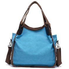 Women Quality Canvas Casual Large Capacity Handbag Shoulder Bag Crossbody Bag
