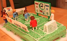 Soccer Birthday Cake Soccer Birthday Cakes, Soccer Cake, Big Cakes, Cute Cakes, Soccer Treats, White Buttercream Frosting, Cake Mix Ingredients, Sheet Cake Pan, Cake Supplies