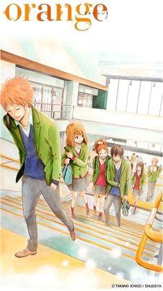 Orange Still on going manga :) Orange Anime, Kawaii, Manga Art, Anime Art, Anime Neko, Vocaloid, Takano Ichigo, Anime Amino, Slice Of Life Anime