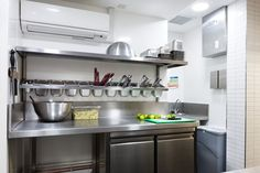 small commercial kitchen design double deep fry char grill - Google Search