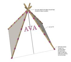 how to build a play tent
