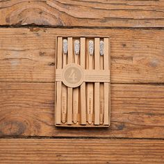 Sustainable Bamboo & Nylon Toothbrush Set