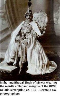 Maharaja Bhupal Singh Ji Of Mewar By Rohit Sonkiya