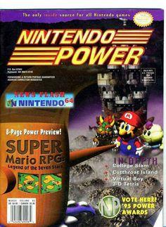 #Nintendo Power #gaming #gamer