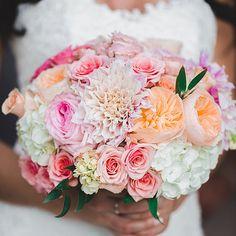 Blush Wedding Bouquet - Flowers - www.bellacalla.com - Bella Calla - Denver Vail Aspen Florist