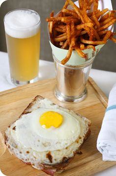 Croque Madame -- Luke restaurant opening in San Antonio this October! Chef John Besh of New Orleans has chosen our city for his first location outside of Louisiana. SO EXCITED.