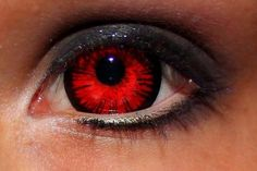 Red contacts? Kind of want.. for nerd purposes..