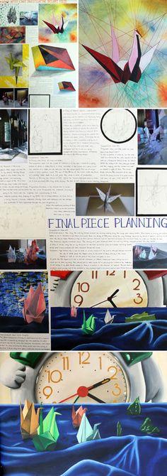 IGCSE final piece development by Agnes Fung - 97%