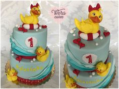 Duck cake for little girl