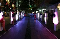 Australian City Scraps Boring Christmas Display For Interactive LED Choir | The Creators Project
