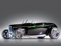 """1932 Ford """"Chromezilla"""" Custom Roadster http://carpictures.us/1932-ford-chromezilla-custom-roadster/"""