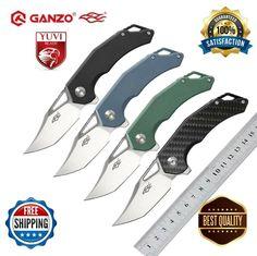 D2 Steel, Folding Pocket Knife, Blade, Llamas