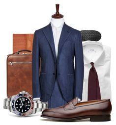 New Sprezzatura - Daily Fashion Suit Combinations, Gentlemen Wear, Navy Blue Suit, Classic Suit, Mens Fashion Suits, Men Style Tips, Suit And Tie, Well Dressed Men, Gentleman Style