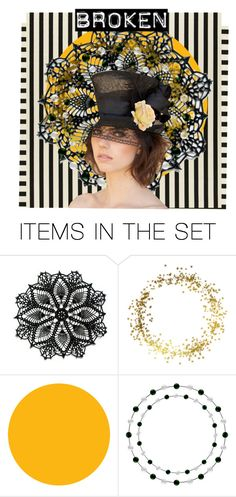 """""""She's Broken ..."""" by glitterlady4 ❤ liked on Polyvore featuring art"""