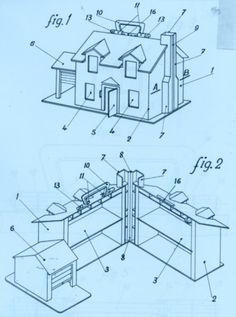 Patente: CASA DE MUÑECAS. (Índice 2); Titular: POSADAS ESCALONA,JOSEFINA; fecha de publicación: 16 de Diciembre de 1970
