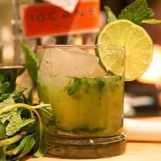 This is a great recipe if you're entertaining & kids are around or for anyone who just wants a refreshing, non-alcoholic drink. Alcohol-Free Mojitos Allrecipes.com