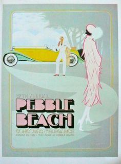 1987, Pebble Beach Concours d'Elegance #poster by Ken Eberts