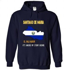 SANTIAGO DE MARIA - Its where my store begin - #shirt for girls #tshirt bag. PURCHASE NOW => https://www.sunfrog.com/No-Category/SANTIAGO-DE-MARIA--It-NavyBlue-49675652-Hoodie.html?68278