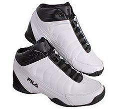 Fila Men's DLS Game Basketball Mid Shoes White/Black or Black/Black US Sizes 7-15 Fila. $40.99