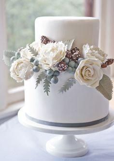 lovely winter cake.