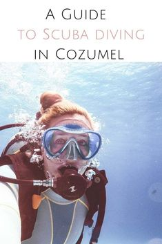 If you want to explore some of the best dive sites in Mexico you need to go diving in Cozumel & the cenotes in Riviera Maya. A guide to the best scuba diving in the Great Maya Barrier Reef & the Yucatan cenotes. Scuba Diving in Mexico Cozumel Scuba Diving, Shark Diving, Best Scuba Diving, Scuba Diving Gear, Cave Diving, Snorkeling Maui, Cozumel Mexico, Mexico Yucatan, Maui Vacation