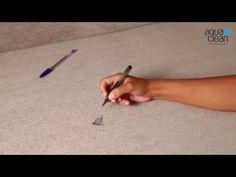 Škvrny od pera - AquaClean kolekcia - YouTube