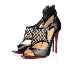 CHRISTIAN LOUBOUTIN Mosaika Kid/Patent, Black, Kid Leather, Women Shoes, Louboutin.. #christianlouboutin #shoes #