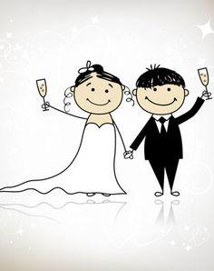 Imprimez quelques planches d'une bande dessinée (sur le thème du mariage) et effacez le contenu des bulles. Disposez-les sur chacune des tables et demandez à vos invités d'écrire les paroles des personnages.