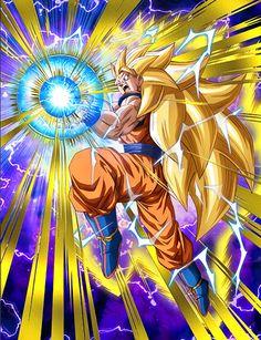 Goku ssj 3  Kamehamehaa - Visit now for 3D Dragon Ball Z compression shirts now on sale! #dragonball #dbz #dragonballsuper