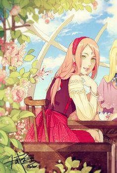 Сакура Харуно|Sakura Haruno+Сарада Учиха