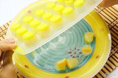 Make Lemon Vinegar Ice Cubes to Clean Garbage Disposal