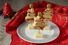 Alberelli di sfoglia segnaposto natalizia un'idea carina, sfiziosa e saporita per decorare la tavola natalizia, facili da realizzare
