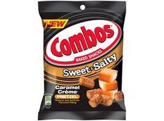 Combos Snacks, No Bake Snacks, Sweet And Salty, Pretzel, Gadget, Caramel, Snack Recipes, Chips, Baking