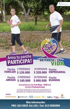 Corre 5 Kilómetros por la lucha contra el cáncer  www.CityCali.com