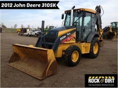 Our Featured #Backhoe is a 2012 John Deere 310SK, Pilot Controls, 1250 Lb Front Counterweight, Ride Control, 1,303 Hrs. We have a great selection of Backhoes! You can view them all at: http://www.rockanddirt.com/equipment-for-sale/backhoes #RockandDirt #Backhoes #HeavyEquipment