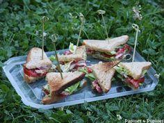 BLT – Sandwich Bacon Laitue Tomates