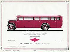 Panhard Zufla 32-Passenger Bus, c. 1931