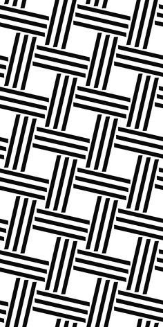 Seamless monochrome line pattern