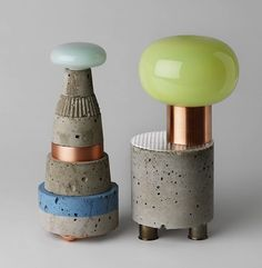 David Taylor's Concrete Conglomerates | Trendland: Design Blog & Trend Magazine