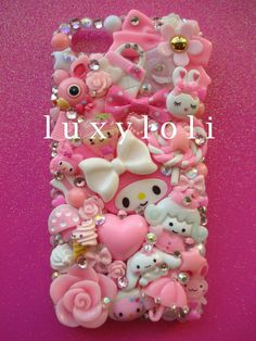 Sweet Pink iPhone 5 Decoden Phone Case