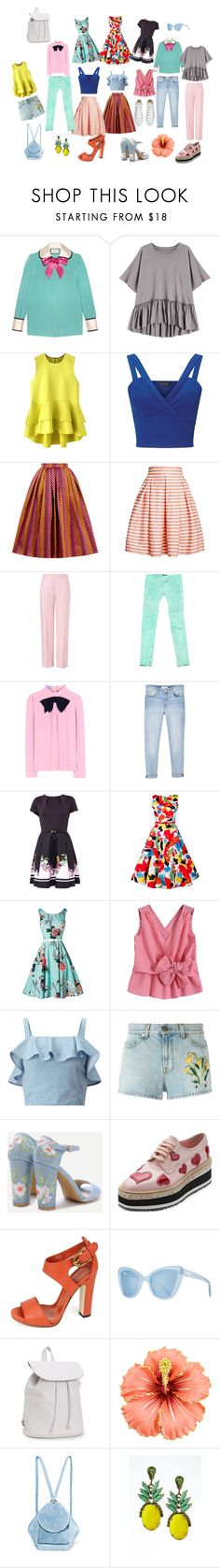 """Baby-girl+ sport"" by explorer-149077476910 on Polyvore featuring мода, Gucci, Miss Selfridge, House of Holland, Rumour London, ESCADA, Balmain, Prada, MANGO и Ted Baker"
