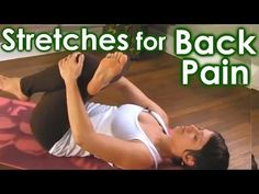 ▶ How To Yoga Stretches for Low Back Pain & Sciatica Relief by Jen Hilman - YouTube