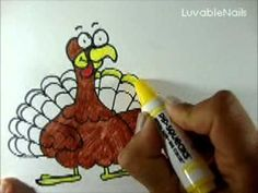 Turkey Doodle by LuvableNails How to draw a Turkey Doodle.